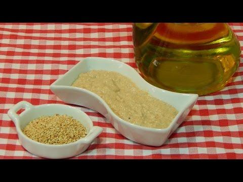 Cómo hacer salsa tahini