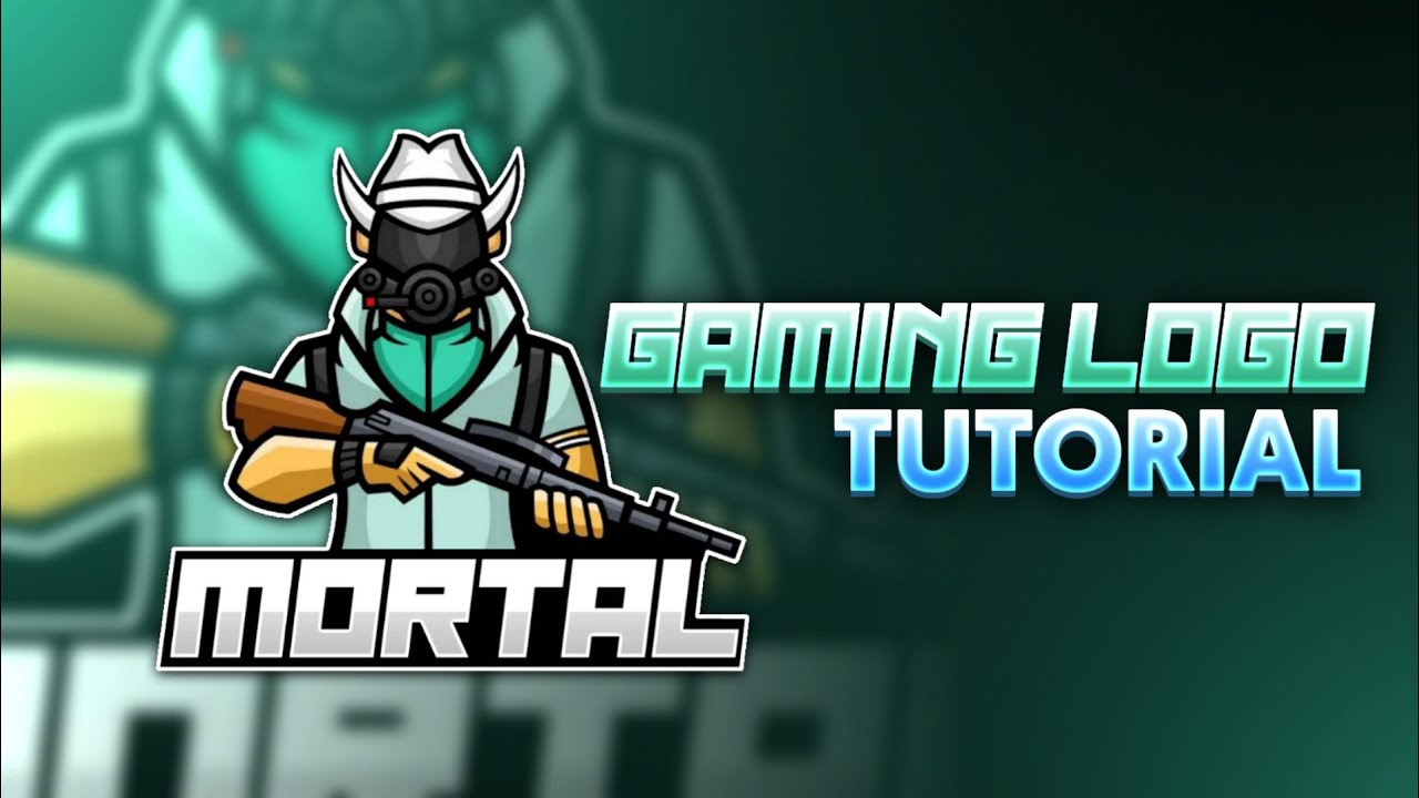 Make A Cool Gaming Logo Like Soul Mortal On Android In PS TOUCH(Read description)