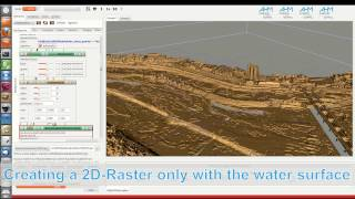 Create a 3D-Volume, Extracting the Water table