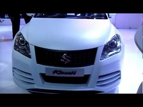 Maruti Suzuki Kizashi at Auto Expo 2012, New Delhi, India