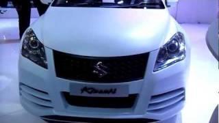 Maruti Suzuki Kizashi at Auto Expo 2012, New Delhi, India