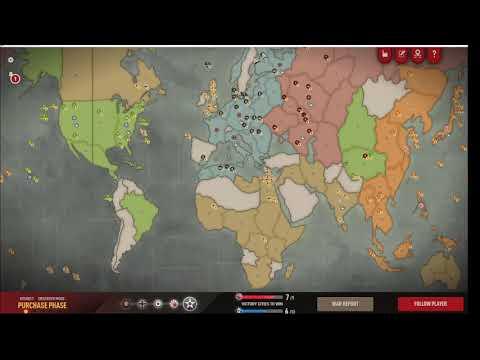 Axis & Allies 1942 Online - TTG (Axis) vs Charmander (Allies) - Part 1 |