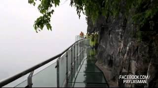 1432 Metre Yükseklikteki Cam Patika Yol