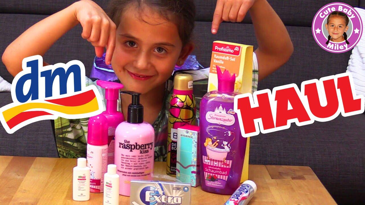 Mileys Shopping Haul Dm Vlog Was Kauft Eine 6 Jährige Bei Dm