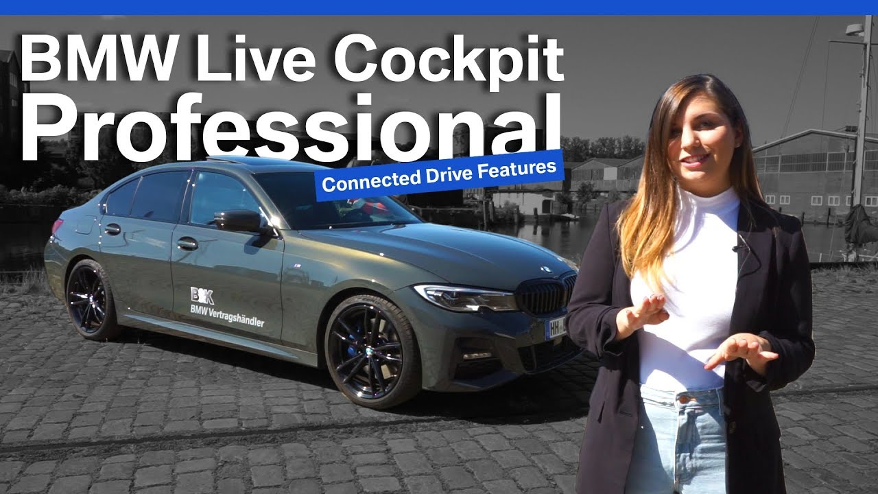 Bmw Live Cockpit Professional Varianten Review Erklarung Youtube