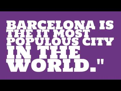 When was Barcelona elected?