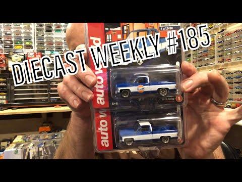 Diecast Weekly Ep. 185 - Auto World Chevy's, RWB Porsche, Koenigsegg , And More