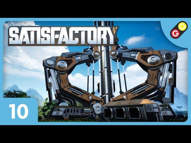 Satisfactory #10 On construit notre ascenseur orbital ! [FR]