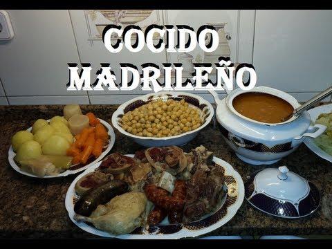 **COCIDO MADRILEÑO  EN PUCHERO