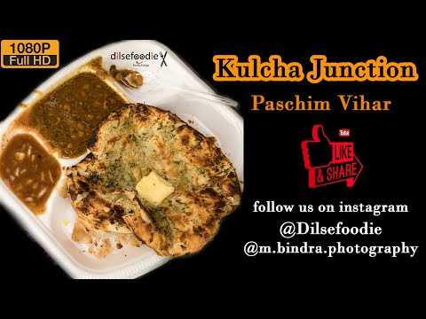 Delhis Best Amritsari Kulcha  Kulcha Junction  Paschim Vihar