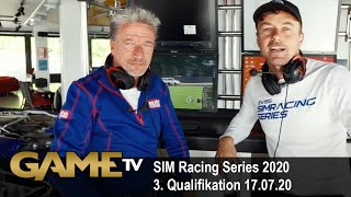 Game TV Schweiz - SIM Racing Series 2020 3. Qualifikation 17.07.20