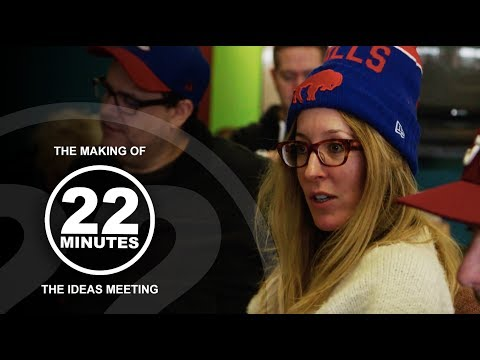 A painful ideas meeting | The Making of 22 Minutes
