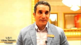 Bassem Youssef In Arab Media Forum - Dubai 2013 .