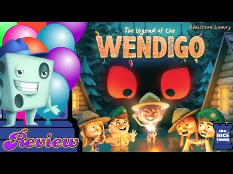 The Legend of Wendigo Review - with Tom Vasel