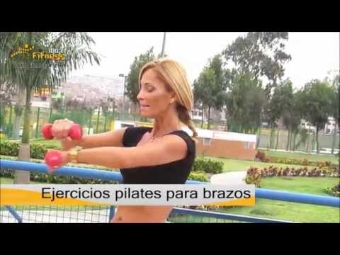 Ejercicios pilates para brazos