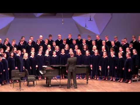 The Concordia Choir (Moorhead, MN) - Beautiful Savior  F.Melius Christiansen