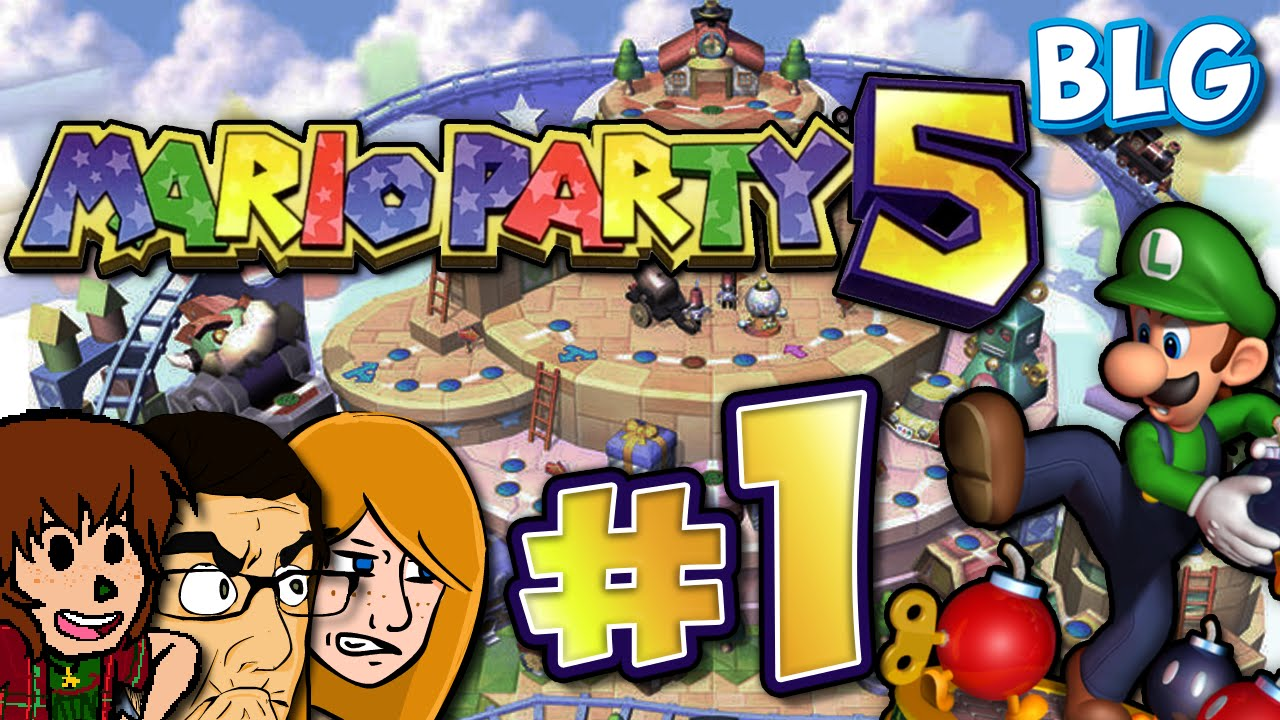 gamecube month let play mario party youtube