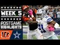 Bengals vs. Cowboys (Week 5) | Game Highlights | NFL