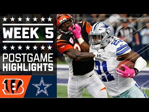 Bengals vs. Cowboys | NFL Week 5 Game Highlights