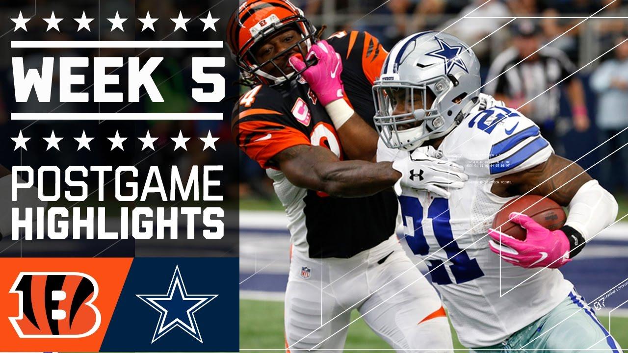 Bengals vs. Cowboys | NFL Week 5 Game Highlights - YouTube