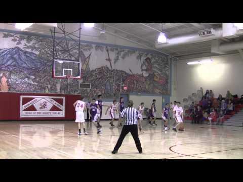 Mountain View Lions 8th Boys vs Academy - Bernalillo Tournament -  Dec 2012