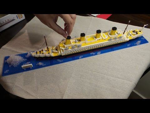 RMS Titanic - fast piece by piece construction