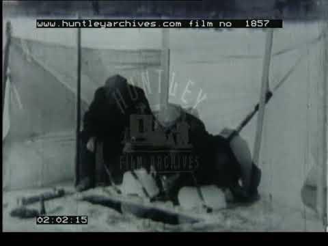 Moose Hunting, 1930s - Film 1857