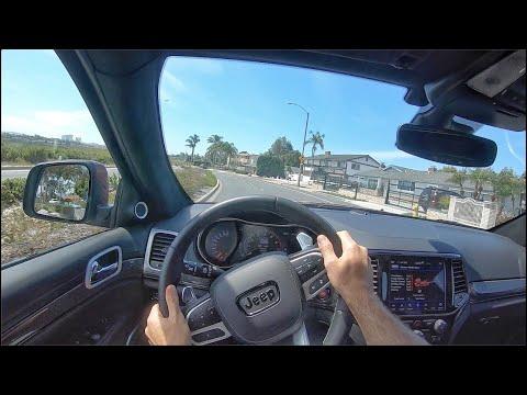 2020 Jeep Grand Cherokee Trackhawk POV Drive (3D Audio)