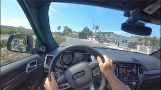 2020 Jeep Grand Cherokee Trackhawk POV Test Drive (3D Audio)(ASMR)