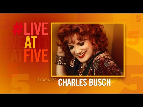 Broadway.com #LiveatFive with Charles Busch