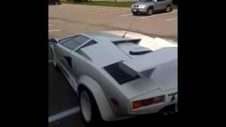 1988.5 Lamborghini Countach Replica built in 2002, drive away