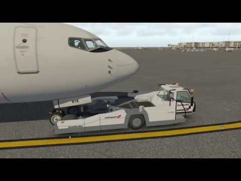 X-plane 11 Plugins: Better Pushback