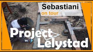 Tuinaanleg Lelystad deel 1 SEBASTIANI hoveniers ON TOUR --- seizoen 3 --- # 1