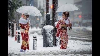 Сильные метели в Японии. Что произошло на нашей Планете. Что произошло в мире.