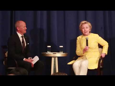 McKeel Hagerty interviews Hillary Clinton
