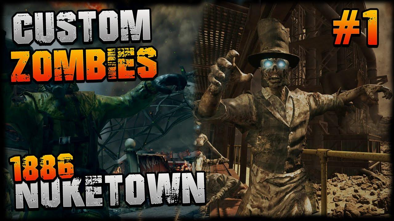 Black Nuketown Ops Cod Zombies