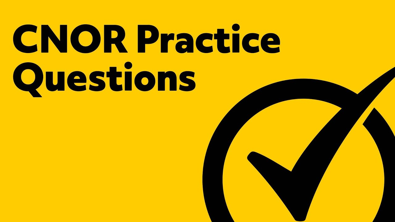 Free cnor practice test youtube free cnor practice test 1betcityfo Choice Image