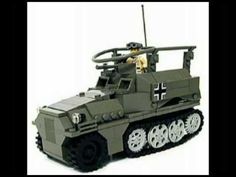 WW2 lego land vehicles - YouTube