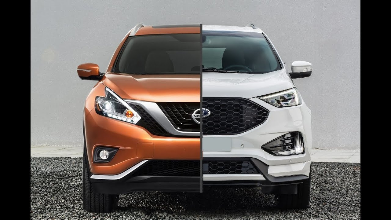 Nissan Murano Vs  Ford Edge