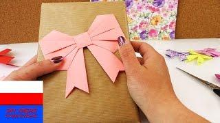 Zrób to sam: kokardka z papieru – ozdabianie prezentów - origami