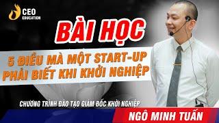 SET UP Doanh Nghiệp Sống Sót Trong Thời Kì Công Nghệ  4.0 - Ngô Minh Tuấn   Học Viện CEO  Việt Nam