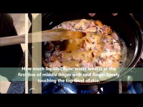 How to Make Kiampong (Hokkien Chinese Rice Casserole)