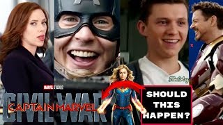 Captain America: Civil War Hilarious Bloopers and Gag Reel | Try Not To Laugh