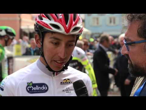 40th Giro del Trentino Melinda: Egan Bernal before stage4