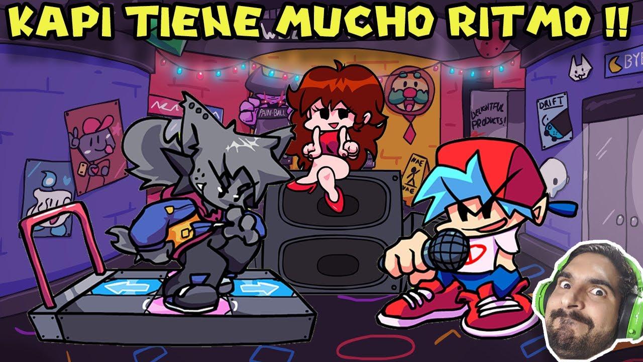 KAPI TIENE MUCHO RITMO !! - Friday Night Funkin con Pepe el Mago (#49)