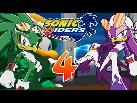 Let´s Play Sonic Riders German Part 4 Der Schlüssel zu Babylon Garden