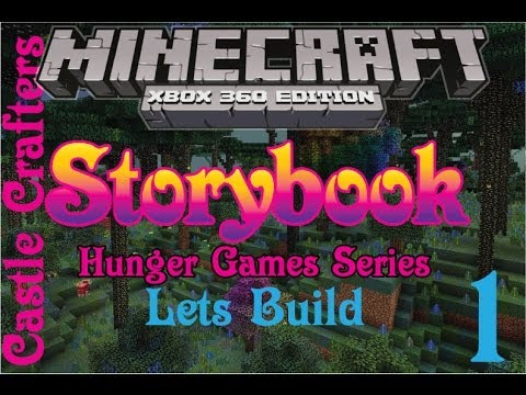 minecraft xbox 360 storybook hunger games let 39 s build