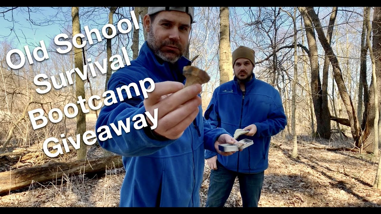 Status Updates and Old School Survival Bootcamp Giveaway