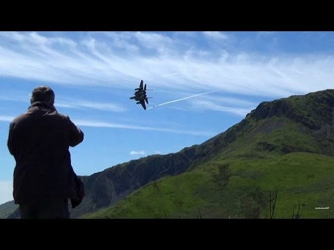 "Great Low Flying Jet Watching Holiday "" Mach Loop Wales 2015 """