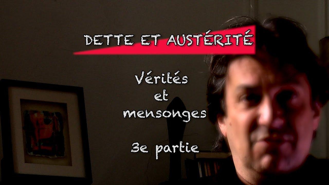 Claude Vaillancourt Dette et austérité : Vérités et mensonges Partie 3